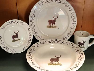 Wide Rim Dinnerware